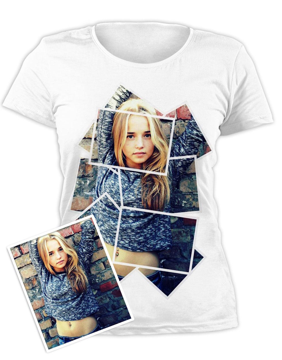 Картинка печать на футболке